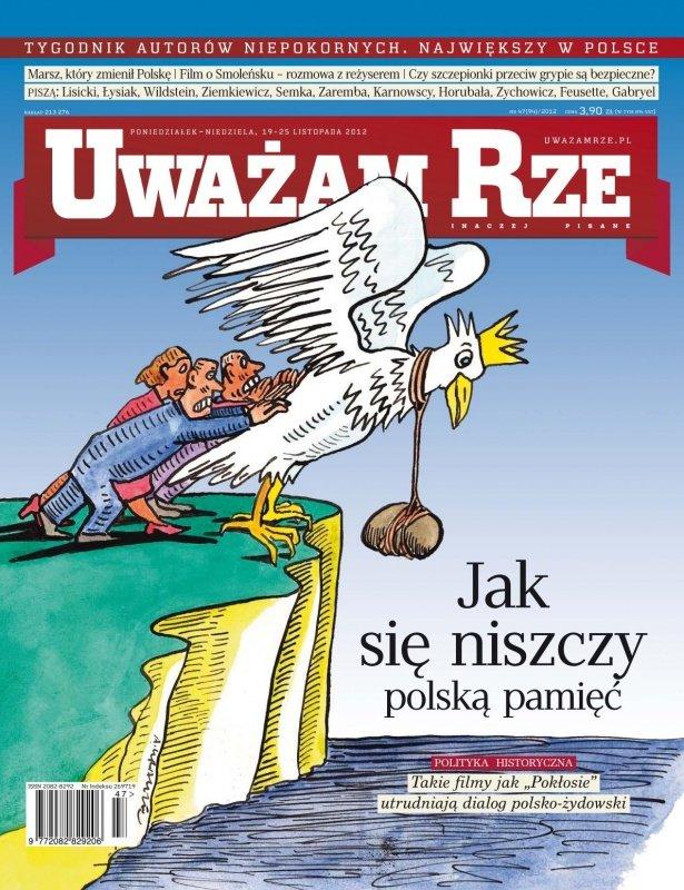 """""""Uważam Rze. Inaczej pisane"""" nr 472012 - Ebook (Książka PDF) do pobrania w formacie PDF"""