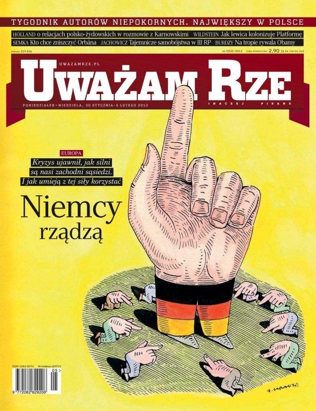"""""""Uważam Rze. Inaczej pisane"""" nr 52012 - Ebook (Książka PDF) do pobrania w formacie PDF"""