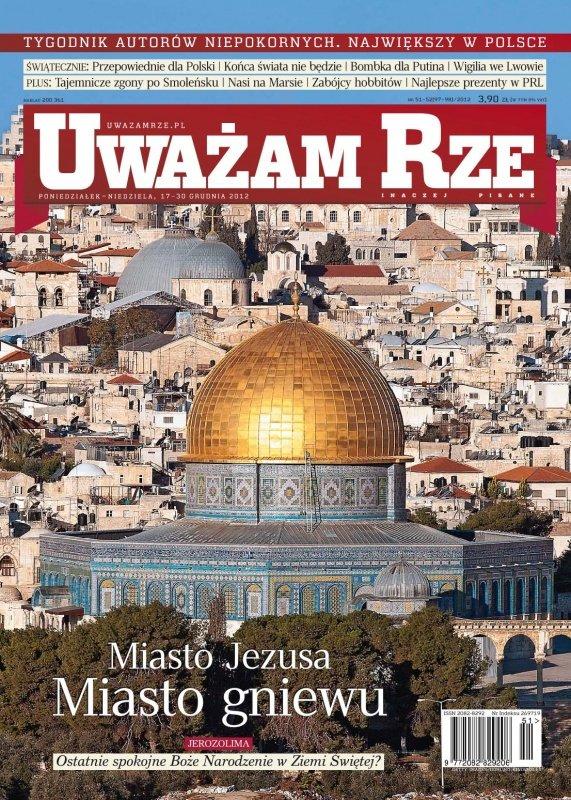 """""""Uważam Rze. Inaczej pisane"""" nr 512012 - Ebook (Książka PDF) do pobrania w formacie PDF"""