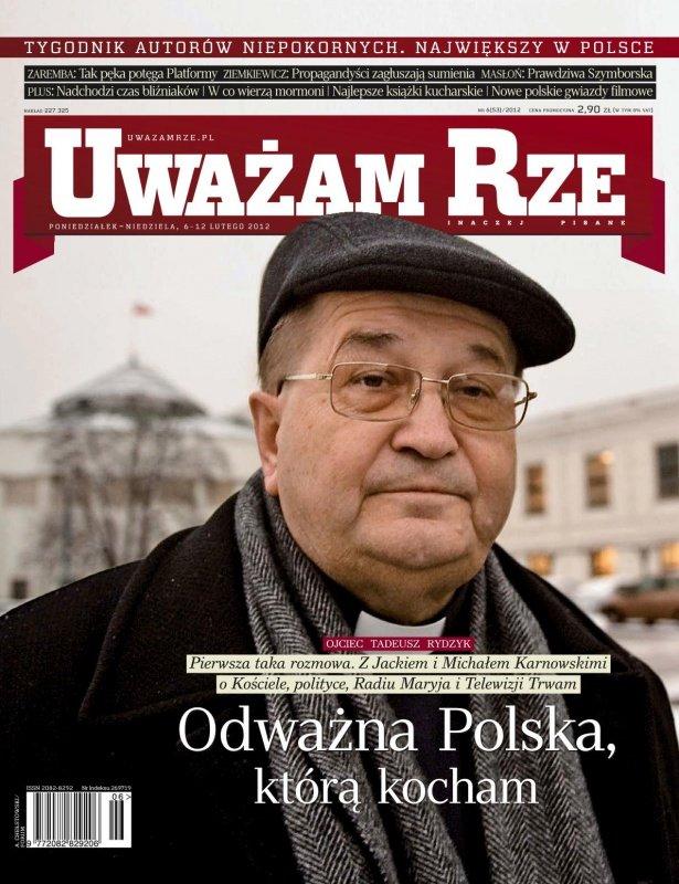 """""""Uważam Rze. Inaczej pisane"""" nr 62012 - Ebook (Książka PDF) do pobrania w formacie PDF"""