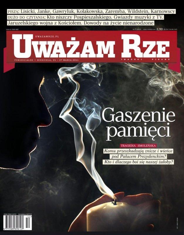 """""""Uważam Rze. Inaczej pisane"""" nr 7 - Ebook (Książka PDF) do pobrania w formacie PDF"""