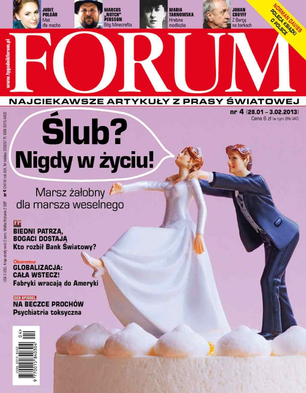 Forum nr 4/2013 - Ebook (Książka PDF) do pobrania w formacie PDF