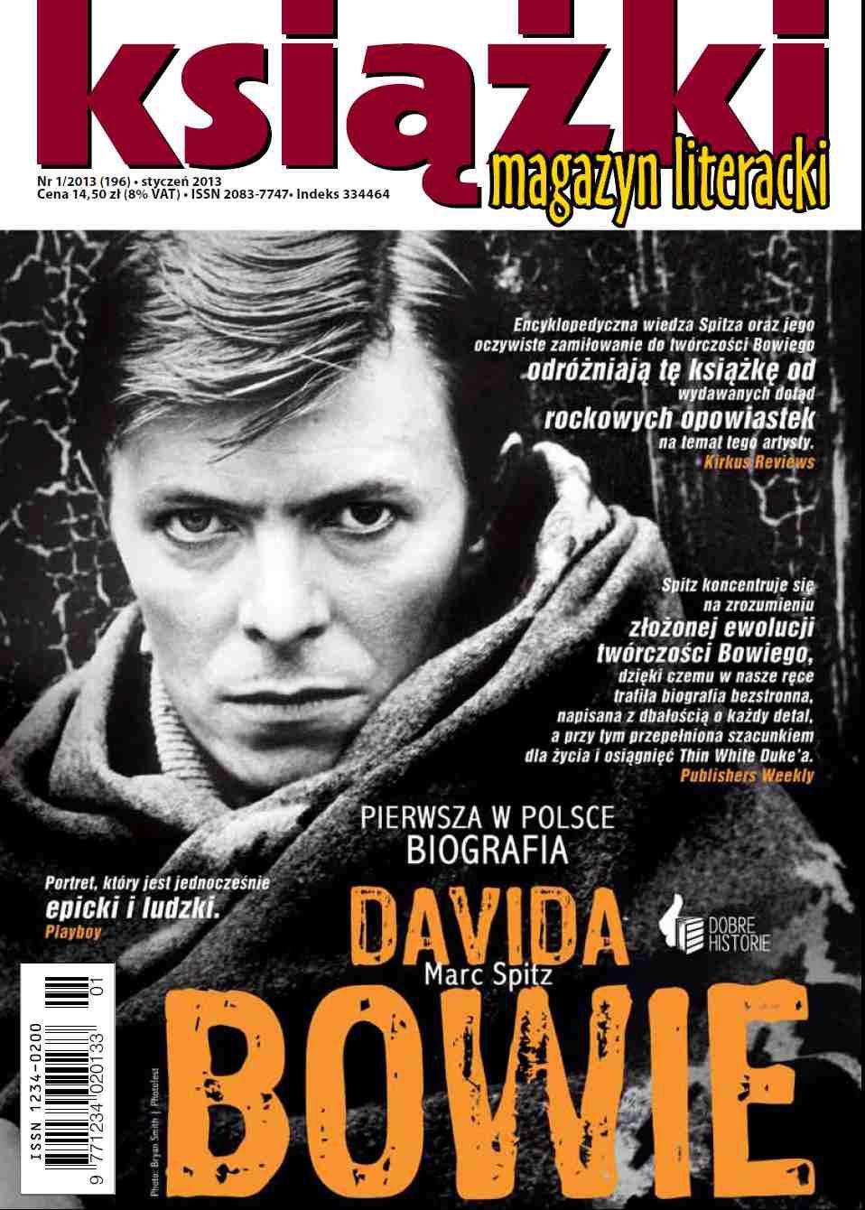 Magazyn Literacki KSIĄŻKI - nr 1/2013 (196) - Ebook (Książka PDF) do pobrania w formacie PDF