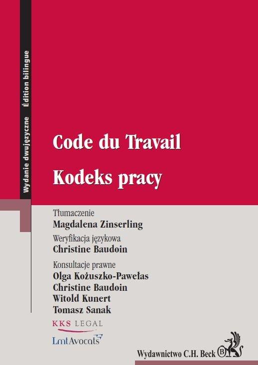 Kodeks pracy. Code du Travail - Ebook (Książka PDF) do pobrania w formacie PDF