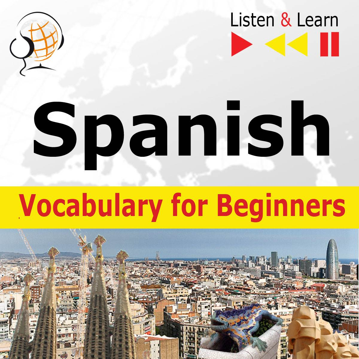 Spanish Vocabulary for Beginners. Listen & Learn to Speak - Audiobook (Książka audio MP3) do pobrania w całości w archiwum ZIP