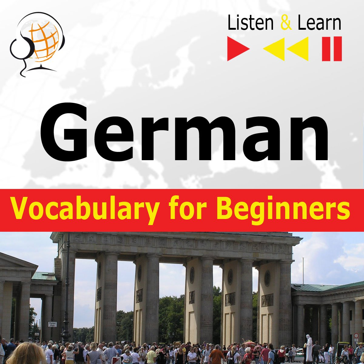 German Vocabulary for Beginners. Listen & Learn to Speak - Audiobook (Książka audio MP3) do pobrania w całości w archiwum ZIP