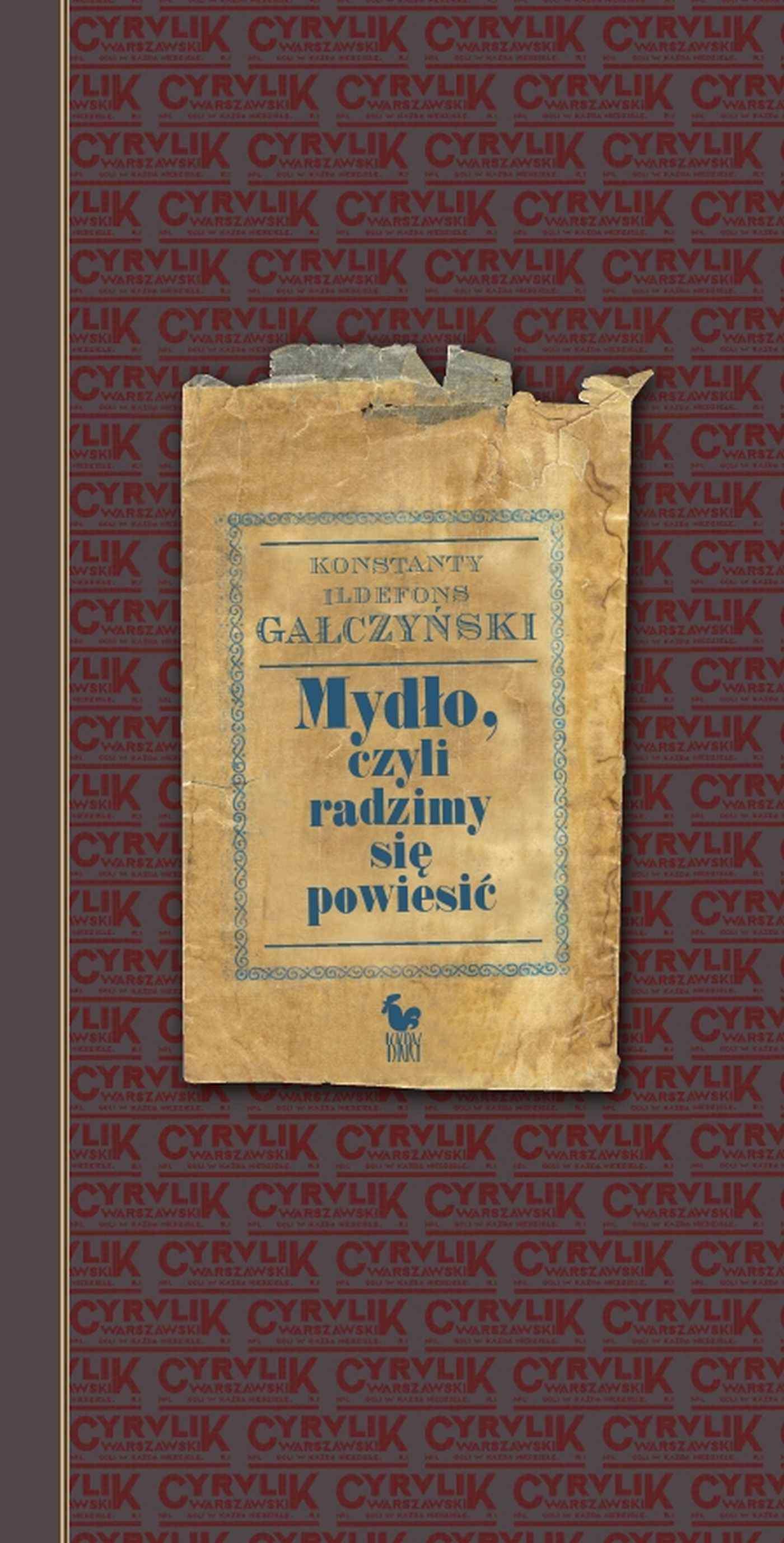 Mydło, czyli radzimy się powiesić - Ebook (Książka EPUB) do pobrania w formacie EPUB