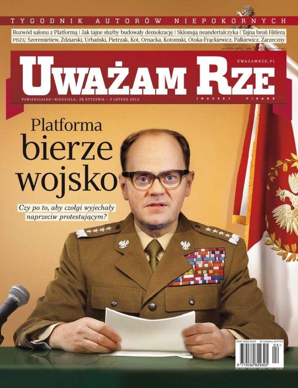 """""""Uważam Rze. Inaczej pisane"""" nr 42013 - Ebook (Książka PDF) do pobrania w formacie PDF"""