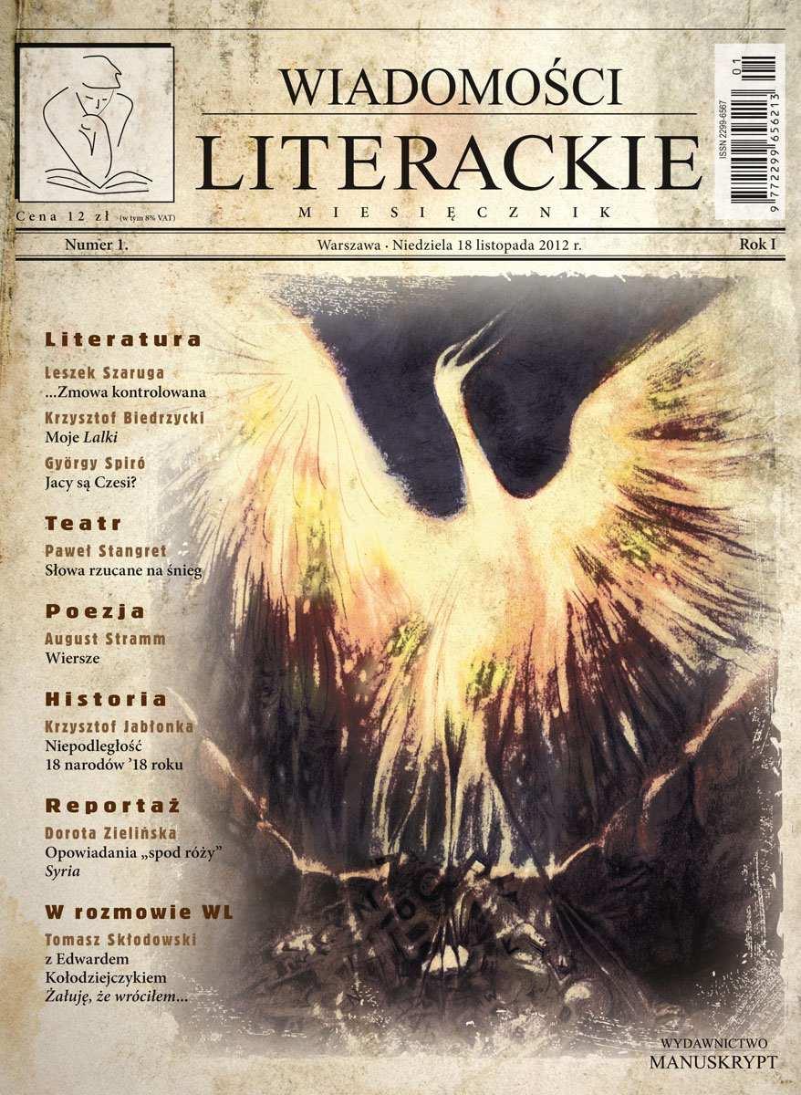 Wiadomości Literackie 1 (1/2012) - Ebook (Książka PDF) do pobrania w formacie PDF