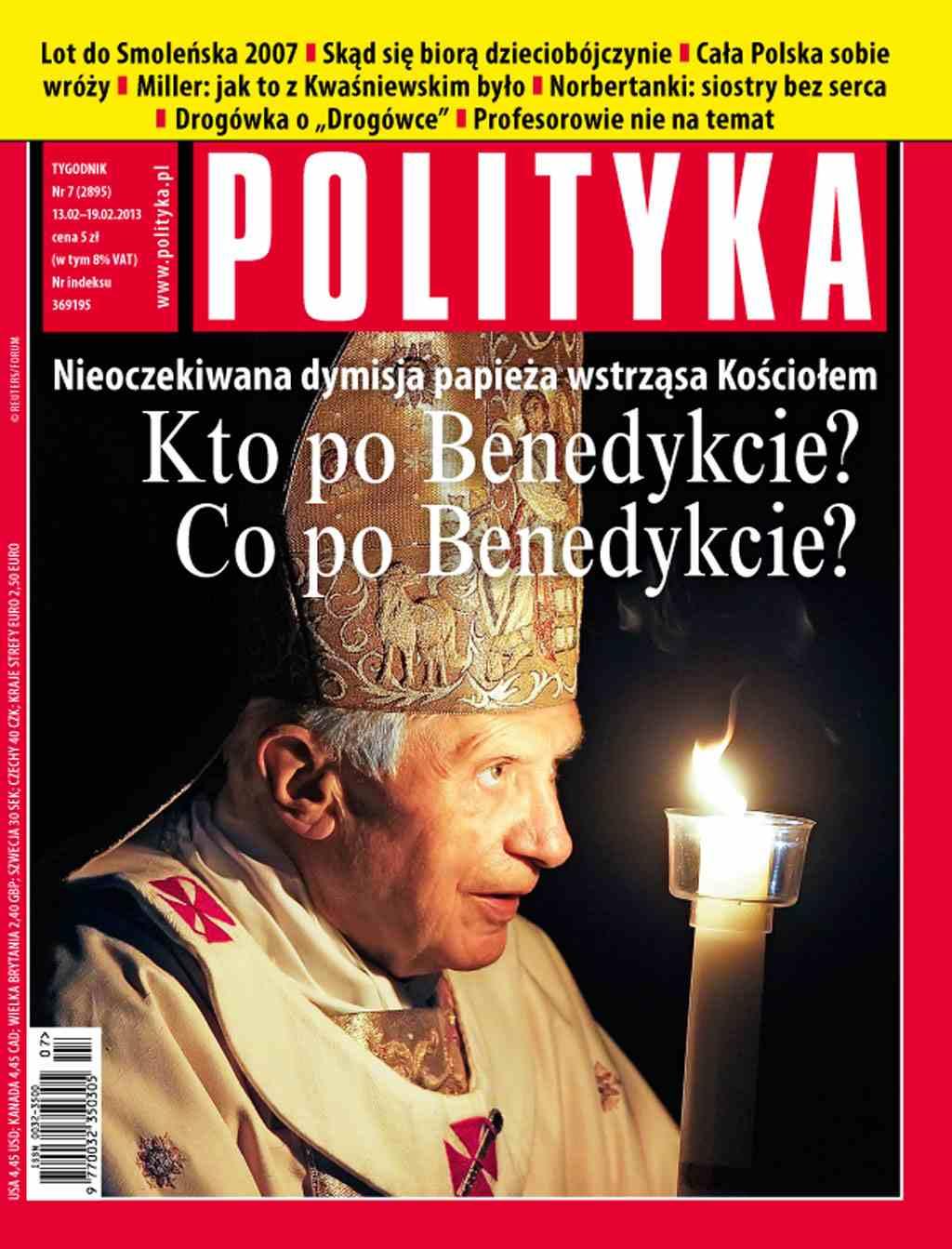 Polityka nr 7/2013 - Ebook (Książka PDF) do pobrania w formacie PDF