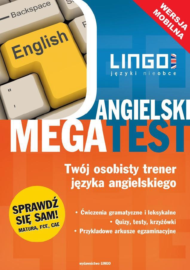 Angielski. Megatest. Wersja mobilna - Ebook (Książka na Kindle) do pobrania w formacie MOBI