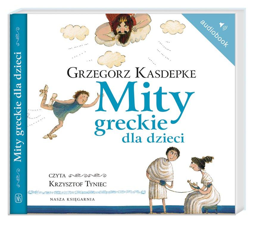 Mity greckie dla dzieci - Audiobook (Książka audio MP3) do pobrania w całości w archiwum ZIP