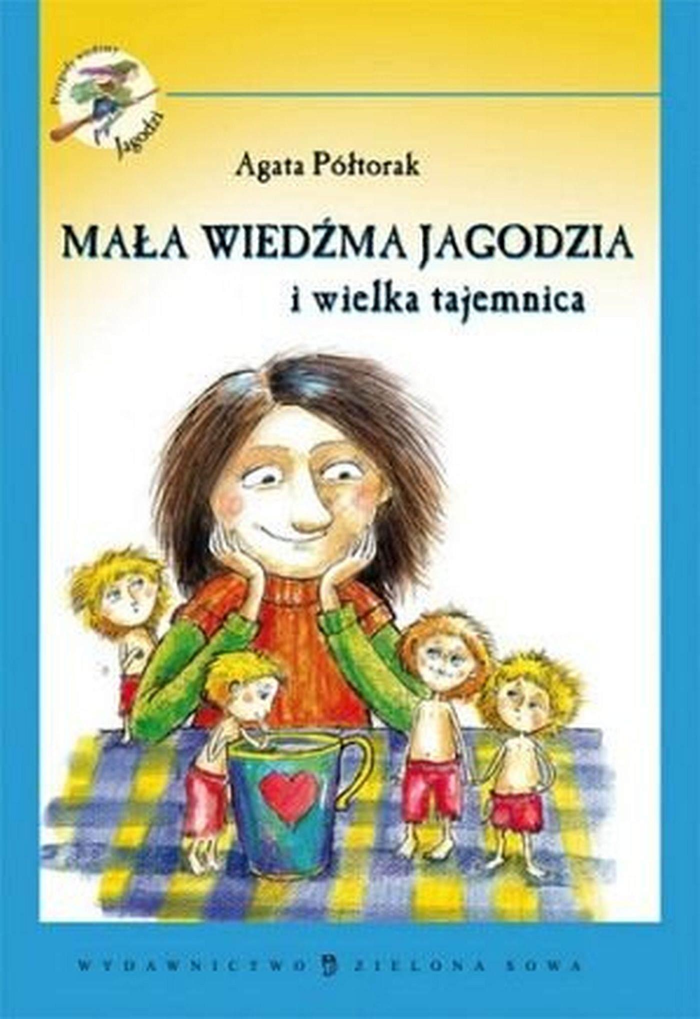 Mała wiedźma Jagodzia i wielka tajemnica - Ebook (Książka EPUB) do pobrania w formacie EPUB