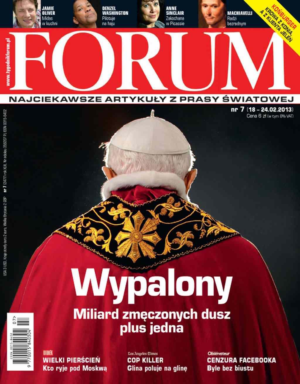 Forum nr 7/2013 - Ebook (Książka PDF) do pobrania w formacie PDF