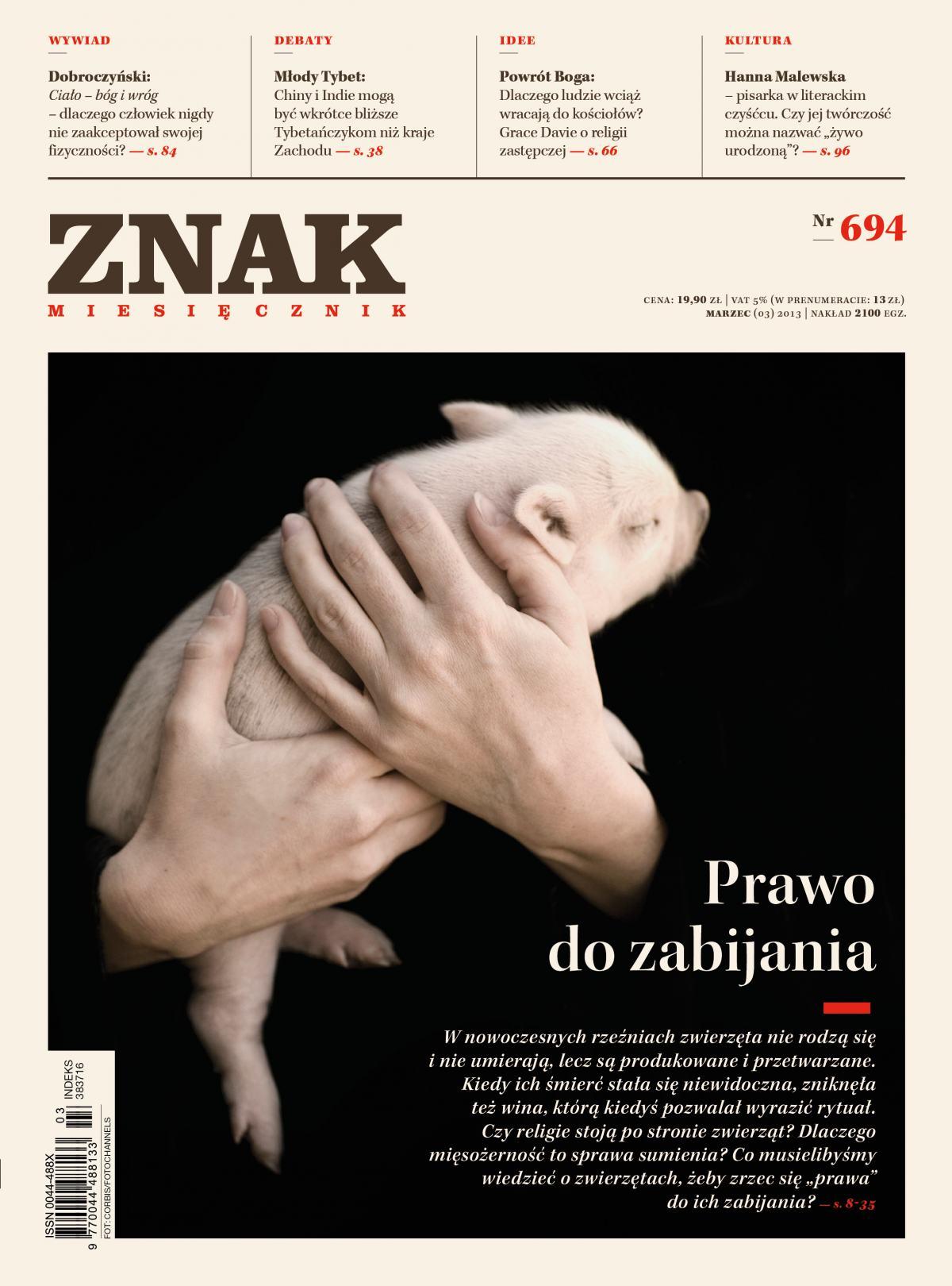 Miesięcznik Znak. Marzec 2013 - Ebook (Książka PDF) do pobrania w formacie PDF