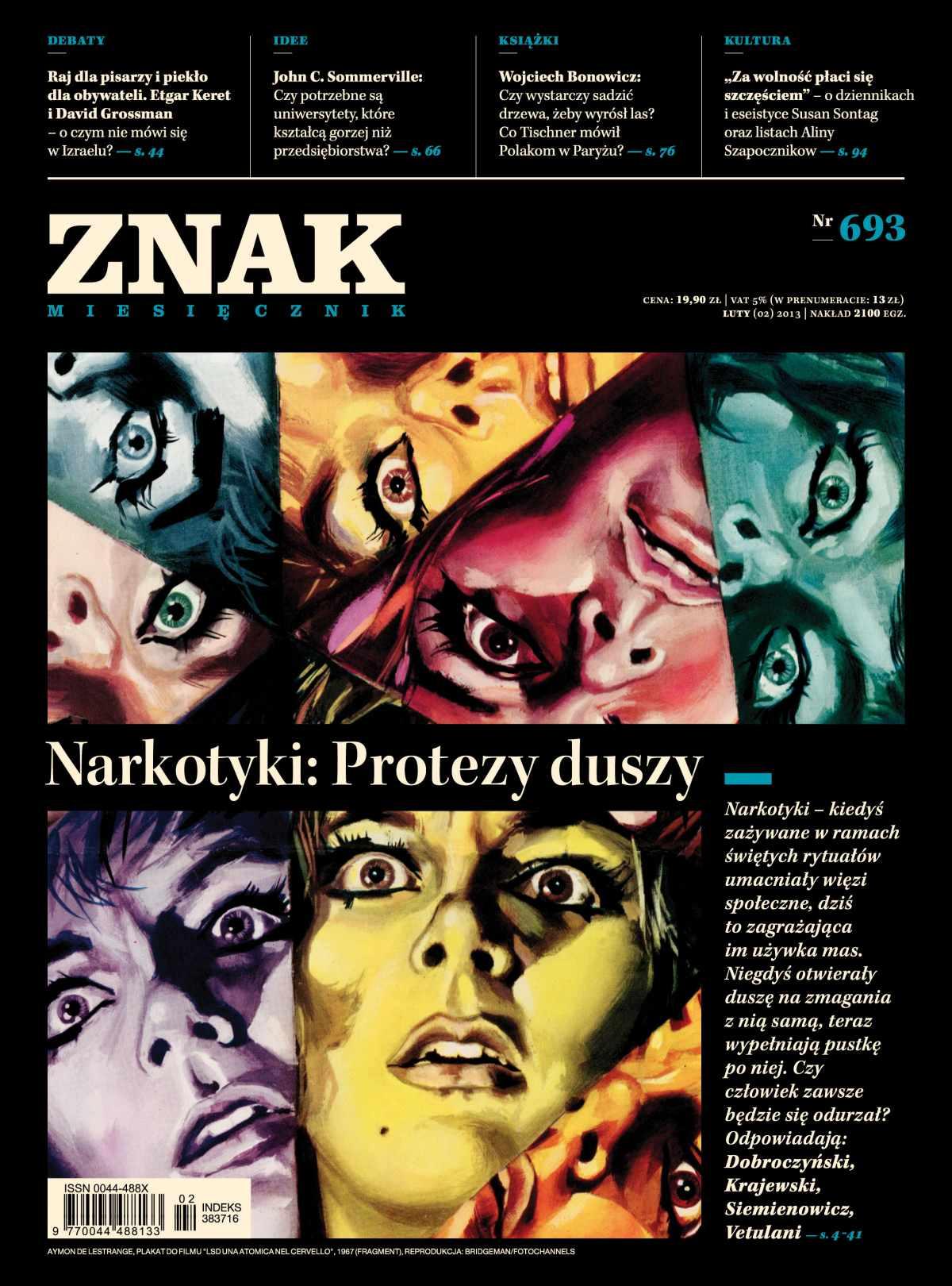 Miesięcznik Znak. Luty 2013 - Ebook (Książka EPUB) do pobrania w formacie EPUB