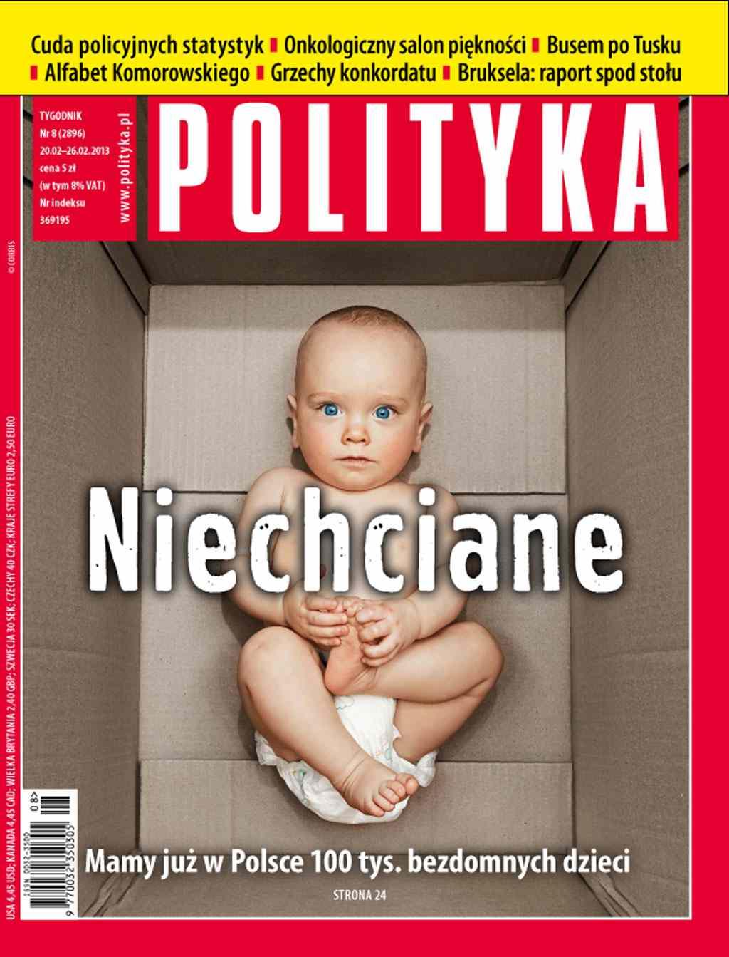Polityka nr 8/2013 - Ebook (Książka PDF) do pobrania w formacie PDF