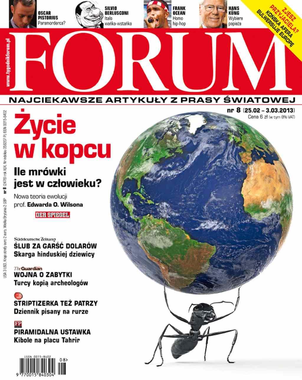 Forum nr 8/2013 - Ebook (Książka PDF) do pobrania w formacie PDF