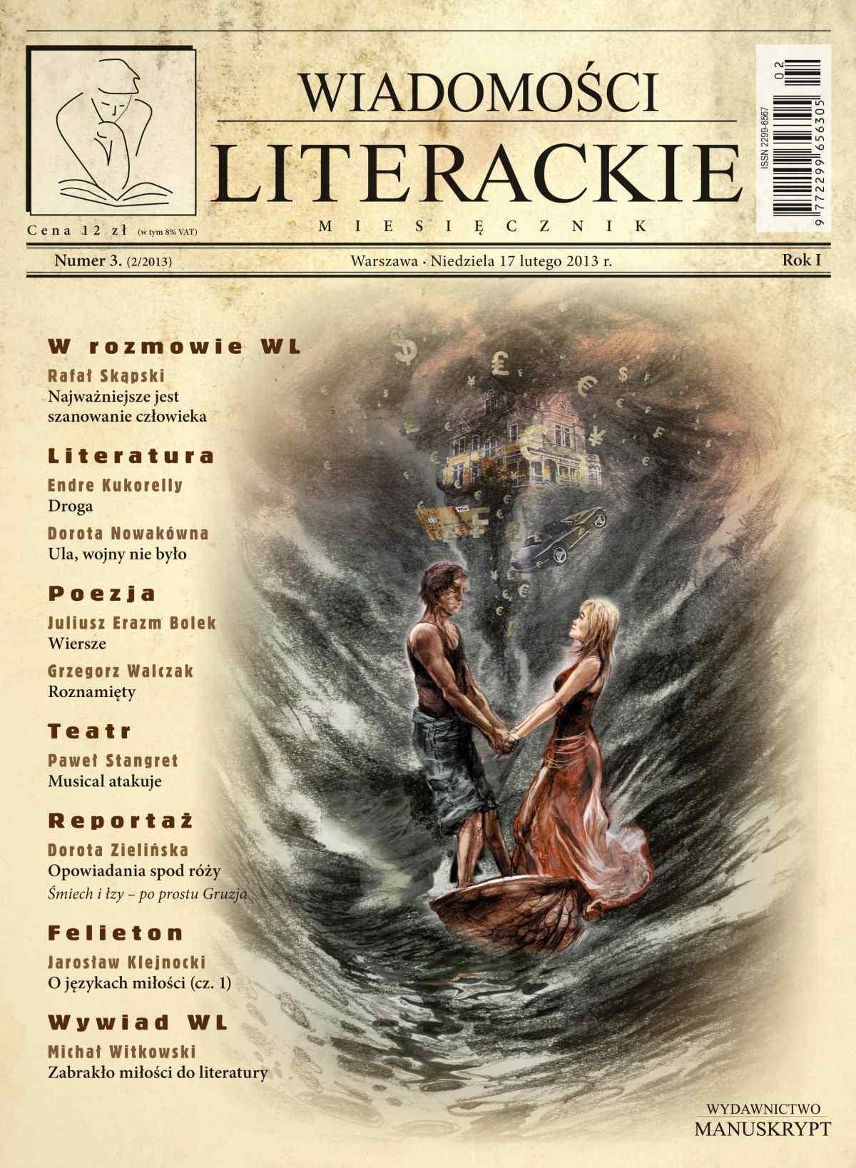 Wiadomości Literackie 3 (2/2013) - Ebook (Książka na Kindle) do pobrania w formacie MOBI