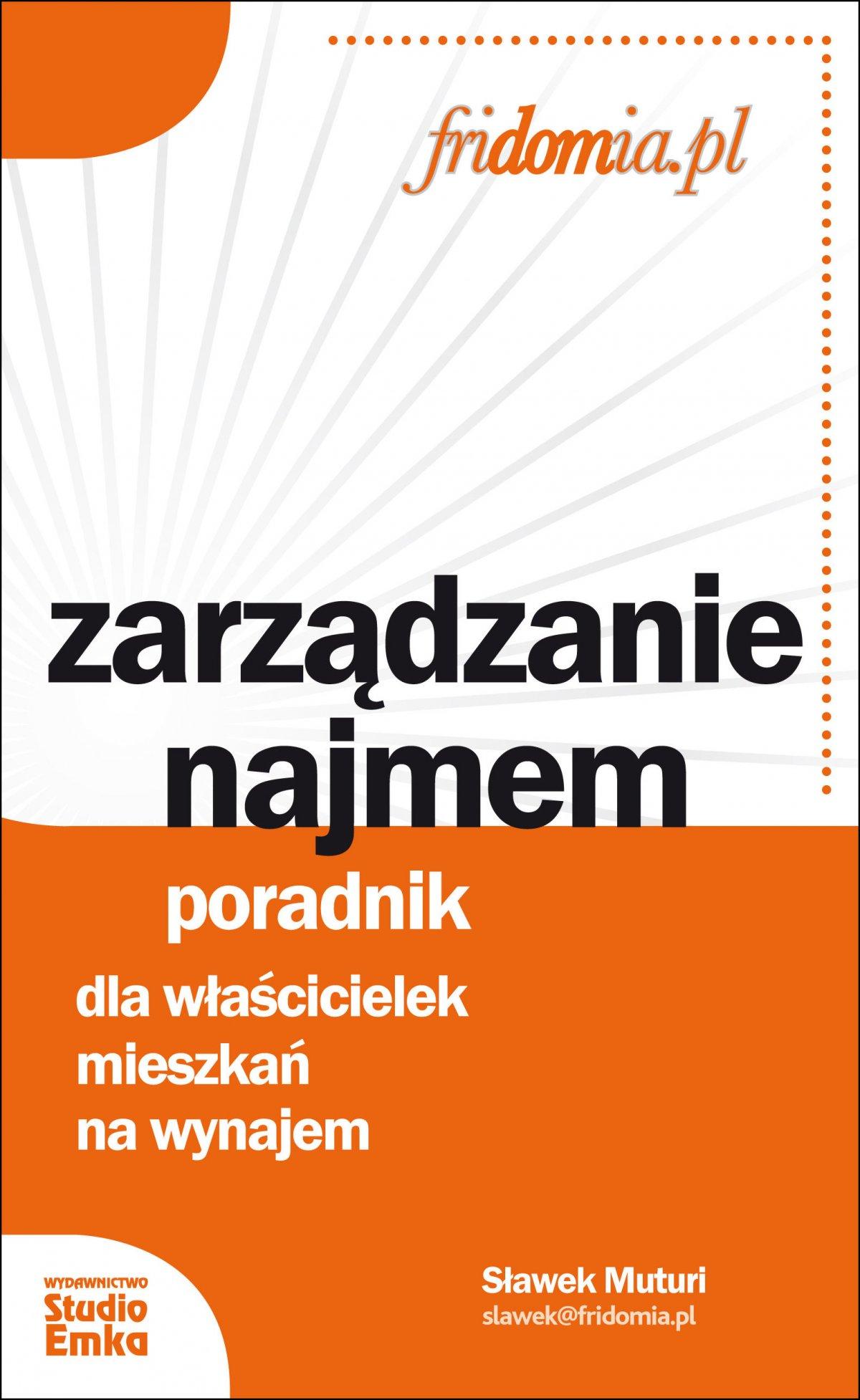 Zarządzanie najmem. Poradnik dla właścicielek mieszkań na wynajem - Ebook (Książka na Kindle) do pobrania w formacie MOBI