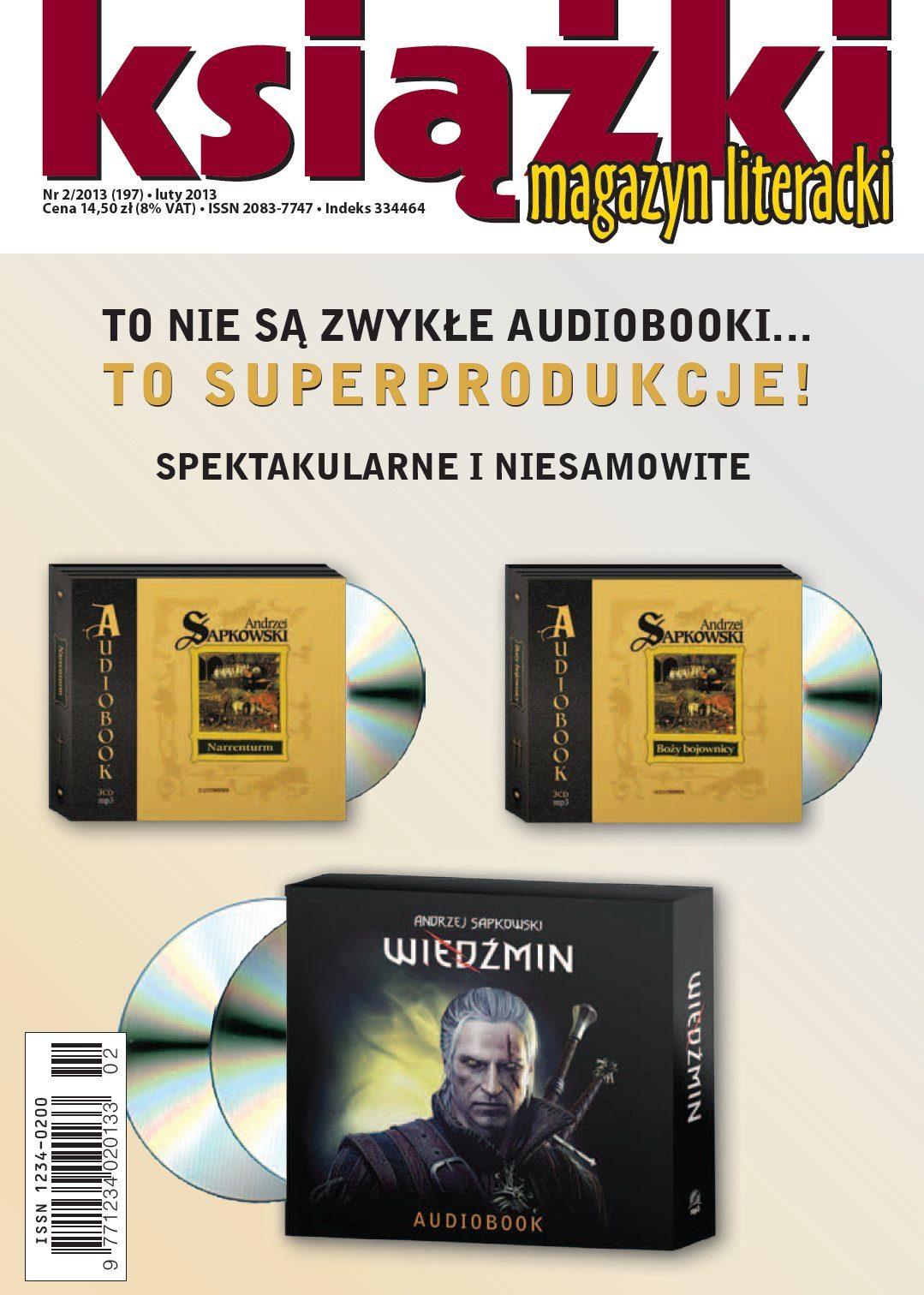 Magazyn Literacki KSIĄŻKI - nr 2/2013 (197) - Ebook (Książka PDF) do pobrania w formacie PDF