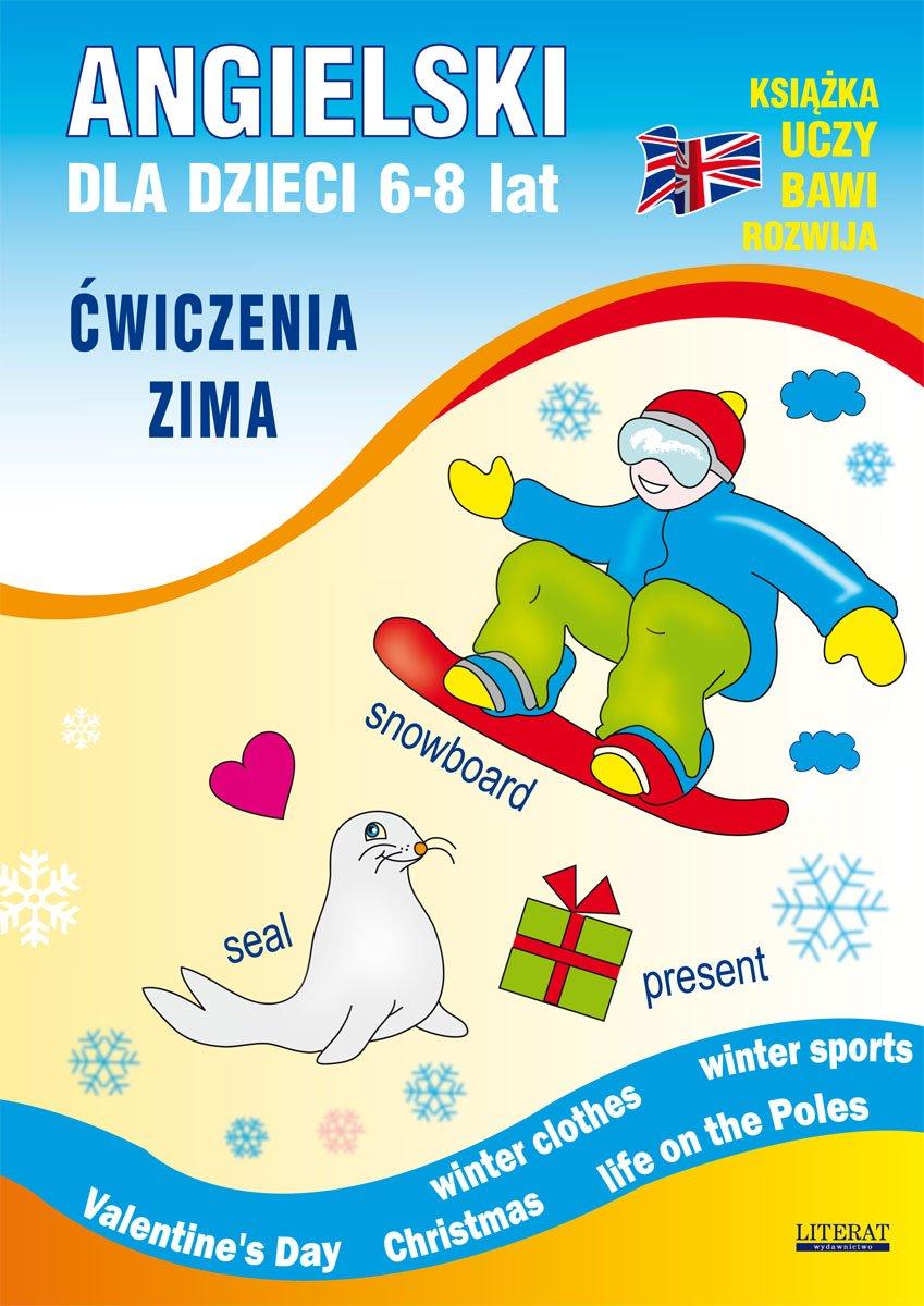 Angielski dla dzieci 6-8 lat. Ćwiczenia. Zima - Ebook (Książka PDF) do pobrania w formacie PDF