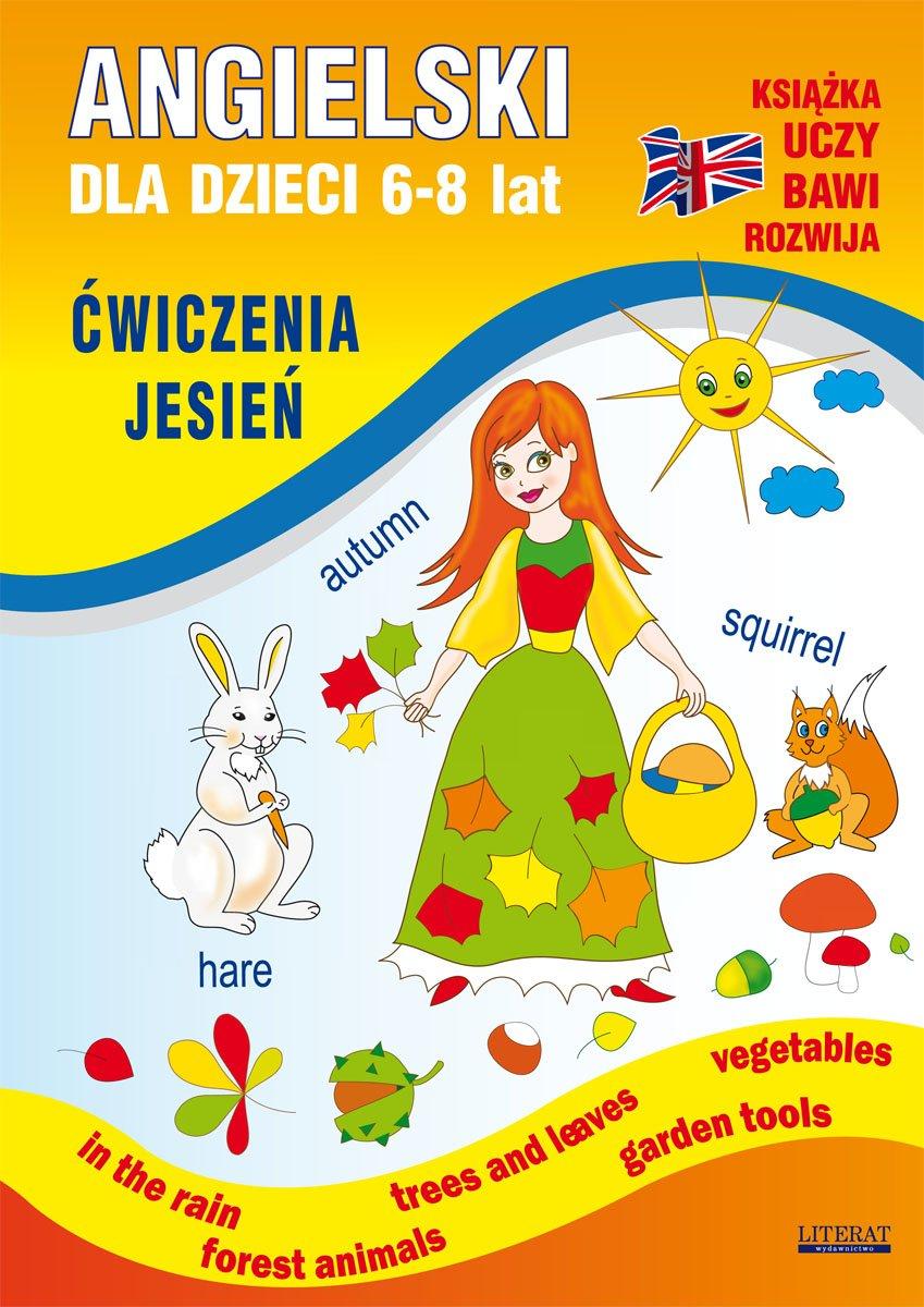 Angielski dla dzieci 6-8 lat. Ćwiczenia. Jesień - Ebook (Książka PDF) do pobrania w formacie PDF
