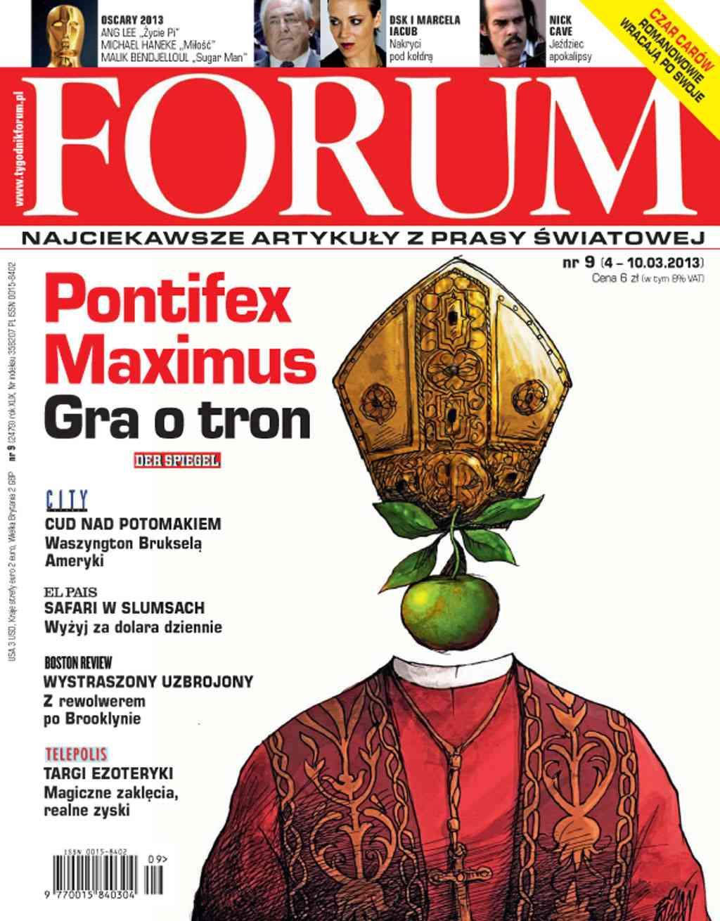 Forum nr 9/2013 - Ebook (Książka PDF) do pobrania w formacie PDF