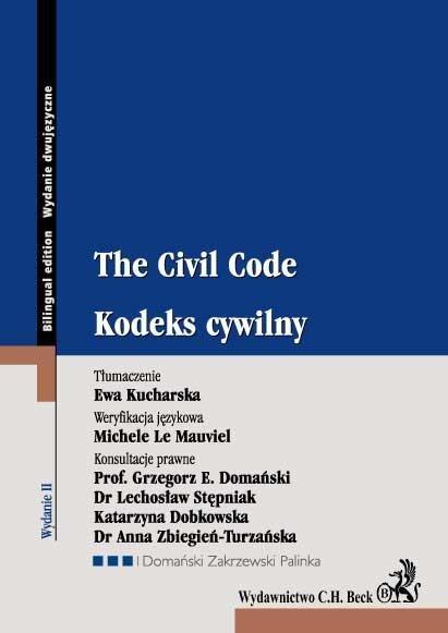 Kodeks cywilny. The Civil Code - Ebook (Książka EPUB) do pobrania w formacie EPUB