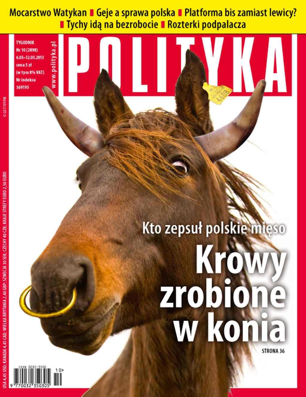 Polityka nr 10/2013 - Ebook (Książka PDF) do pobrania w formacie PDF