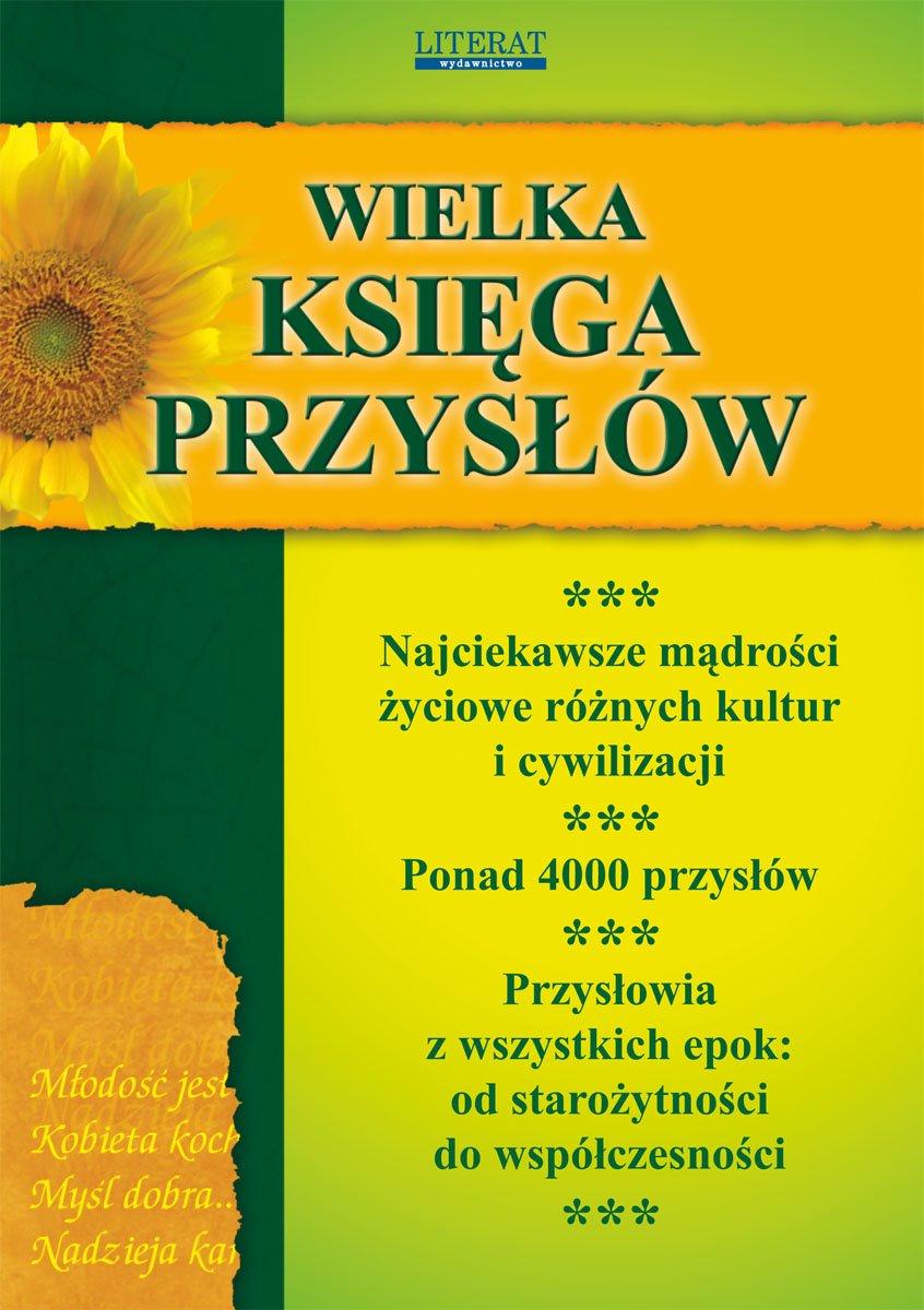 Wielka księga przysłów - Ebook (Książka PDF) do pobrania w formacie PDF