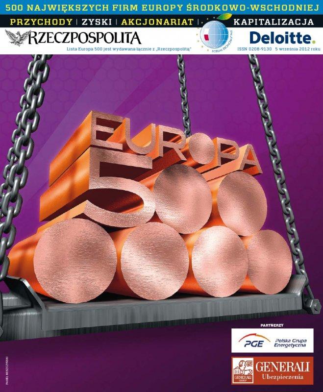 Europa 500 - Edycja 2012 - Ebook (Książka PDF) do pobrania w formacie PDF