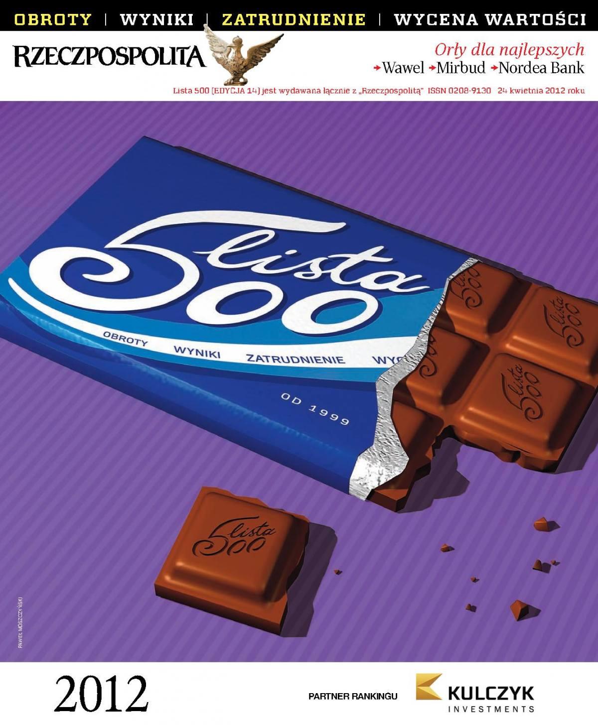Lista 500 - Edycja 2012 - Ebook (Książka PDF) do pobrania w formacie PDF