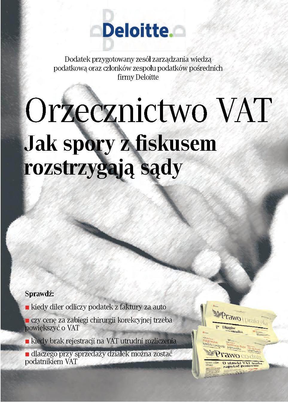 Orzecznictwo VAT - Ebook (Książka PDF) do pobrania w formacie PDF