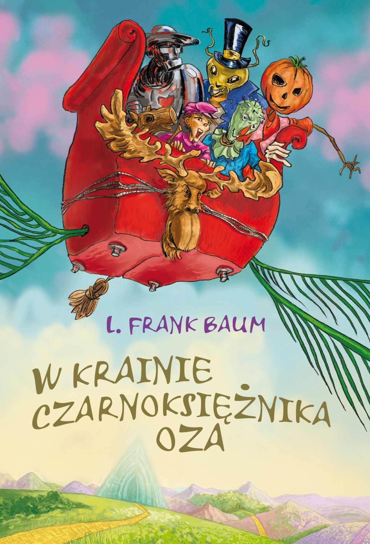 W krainie Czarnoksiężnika Oza - Ebook (Książka EPUB) do pobrania w formacie EPUB
