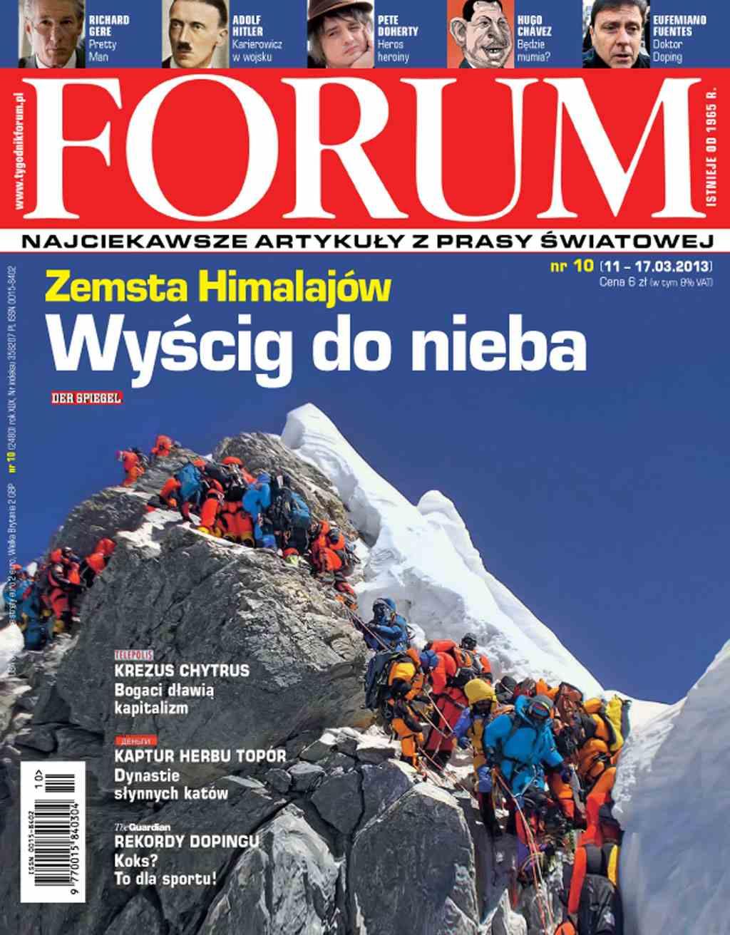 Forum nr 10/2013 - Ebook (Książka PDF) do pobrania w formacie PDF