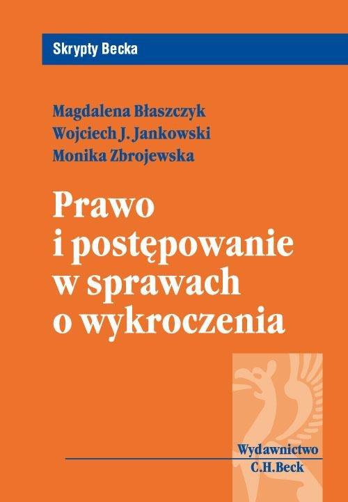 Prawo i postępowanie w sprawach o wykroczenia - Ebook (Książka PDF) do pobrania w formacie PDF