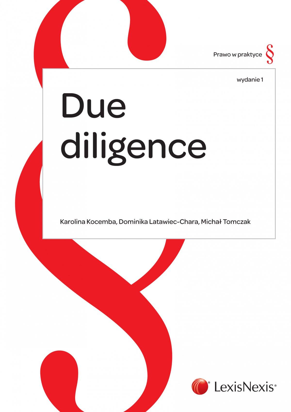 Due diligence - procedura badania prawnego - Ebook (Książka PDF) do pobrania w formacie PDF
