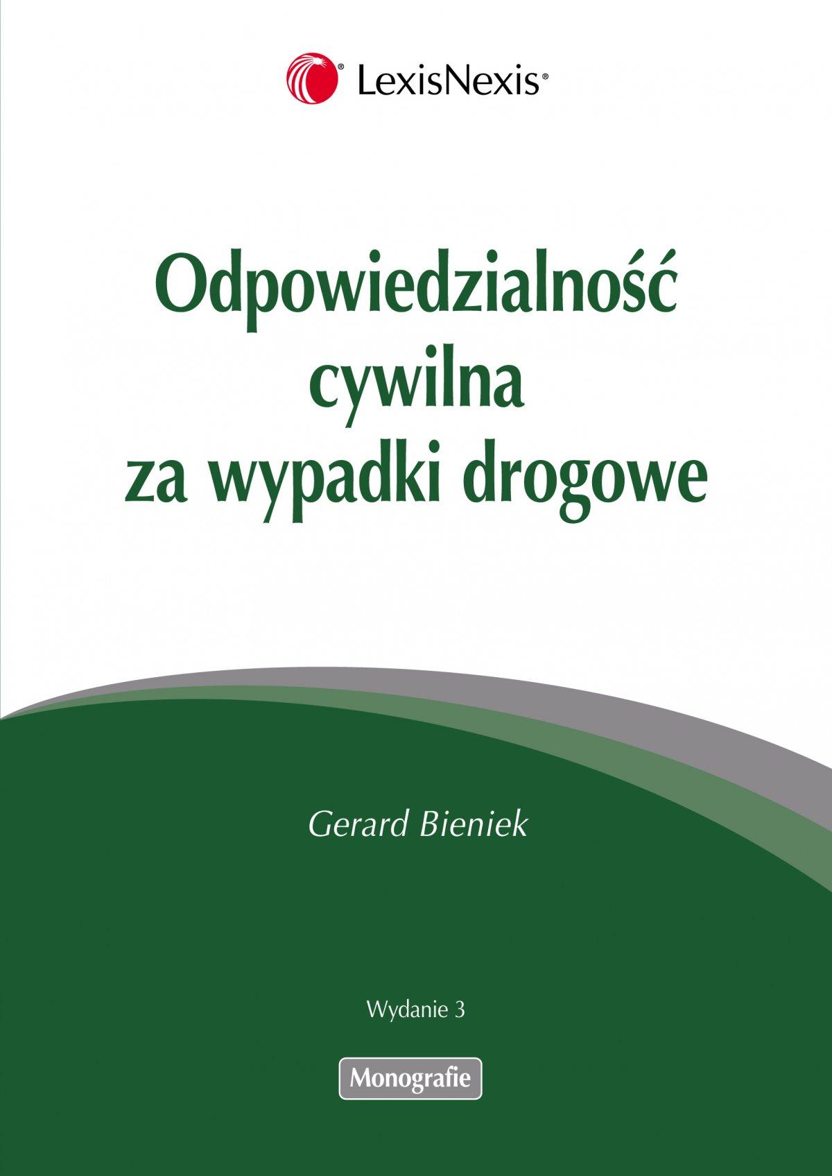 Odpowiedzialność cywilna za wypadki drogowe - Ebook (Książka EPUB) do pobrania w formacie EPUB