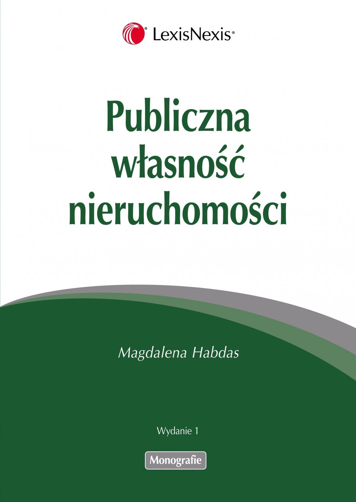 Publiczna własność nieruchomości - Ebook (Książka PDF) do pobrania w formacie PDF
