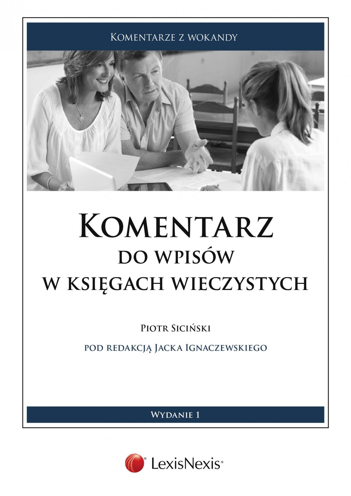 Komentarz do wpisów w księgach wieczystych - Ebook (Książka PDF) do pobrania w formacie PDF