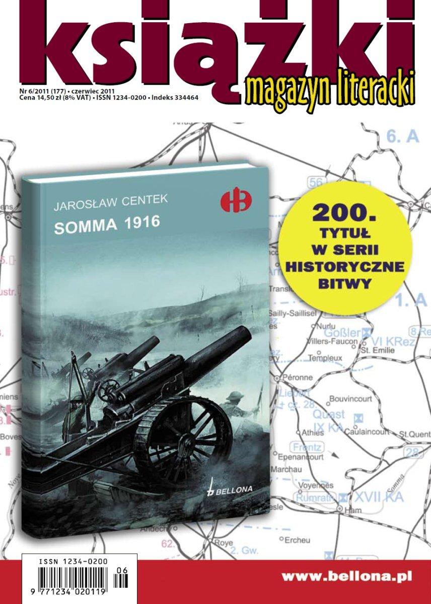 Magazyn Literacki KSIĄŻKI - nr 6/2011 (177) - Ebook (Książka PDF) do pobrania w formacie PDF