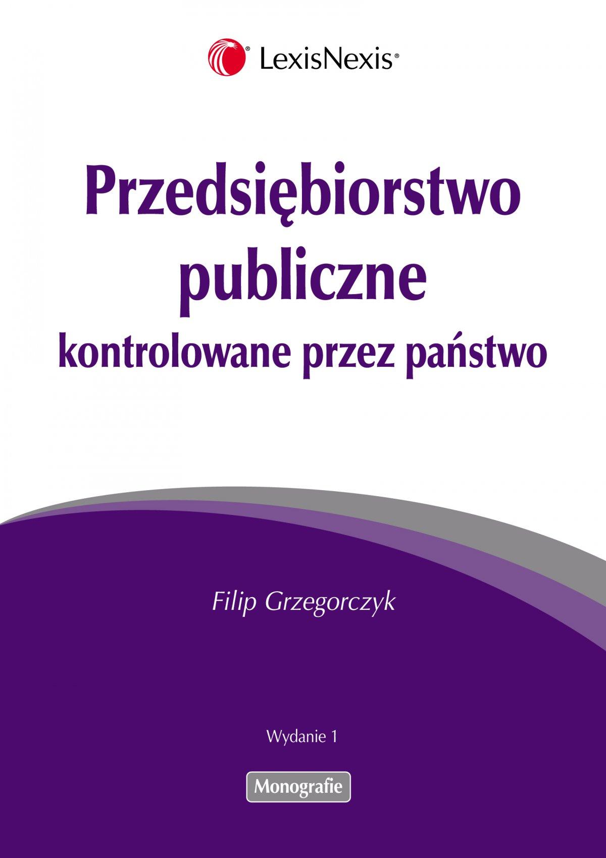 Przedsiębiorstwo publiczne kontrolowane przez państwo - Ebook (Książka EPUB) do pobrania w formacie EPUB
