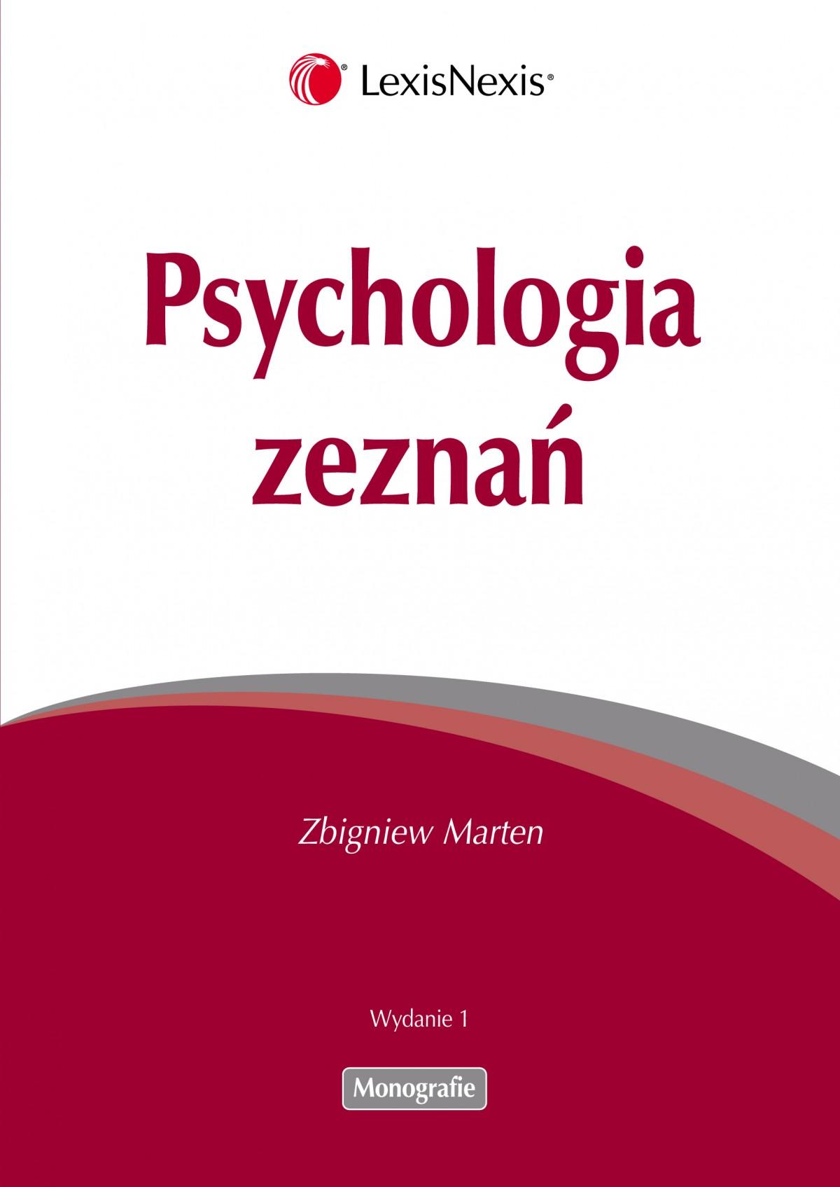 Psychologia zeznań - Ebook (Książka PDF) do pobrania w formacie PDF