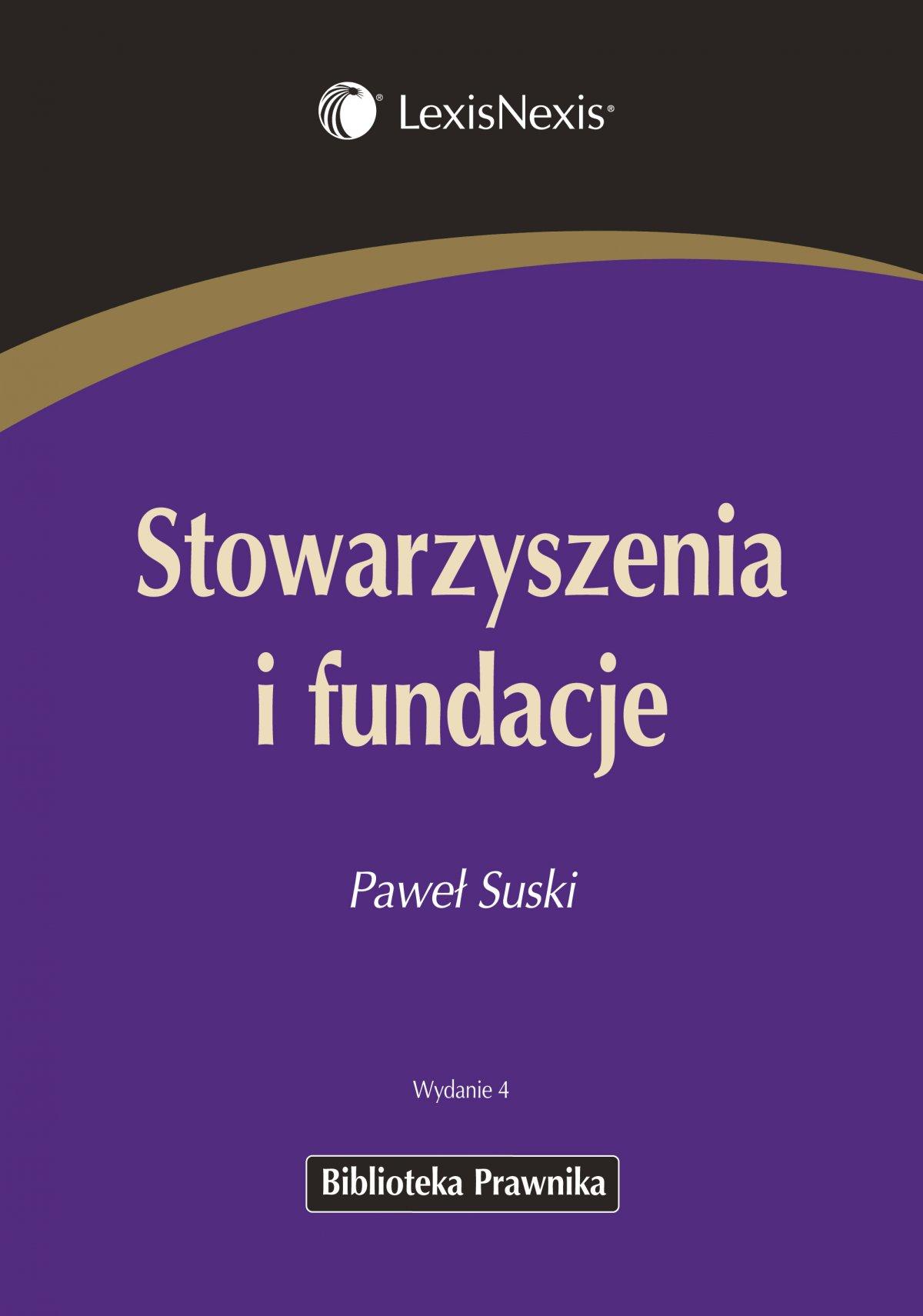 Stowarzyszenia i fundacje - Ebook (Książka PDF) do pobrania w formacie PDF