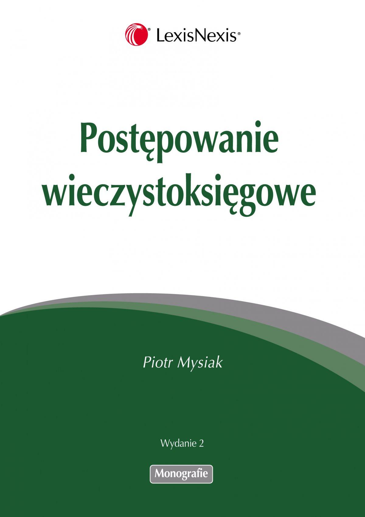 Postępowanie wieczystoksięgowe - Ebook (Książka EPUB) do pobrania w formacie EPUB