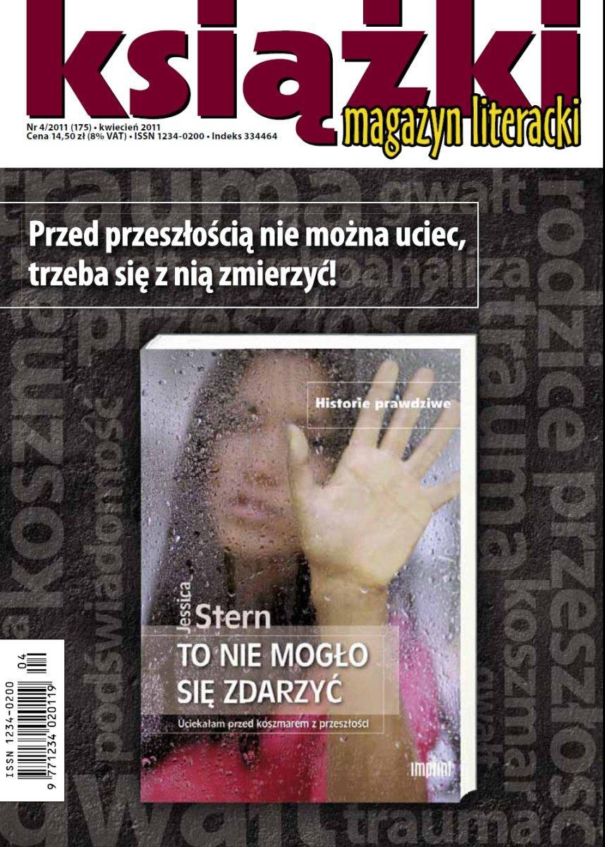 Magazyn Literacki KSIĄŻKI nr 4/2011 (175) - Ebook (Książka PDF) do pobrania w formacie PDF