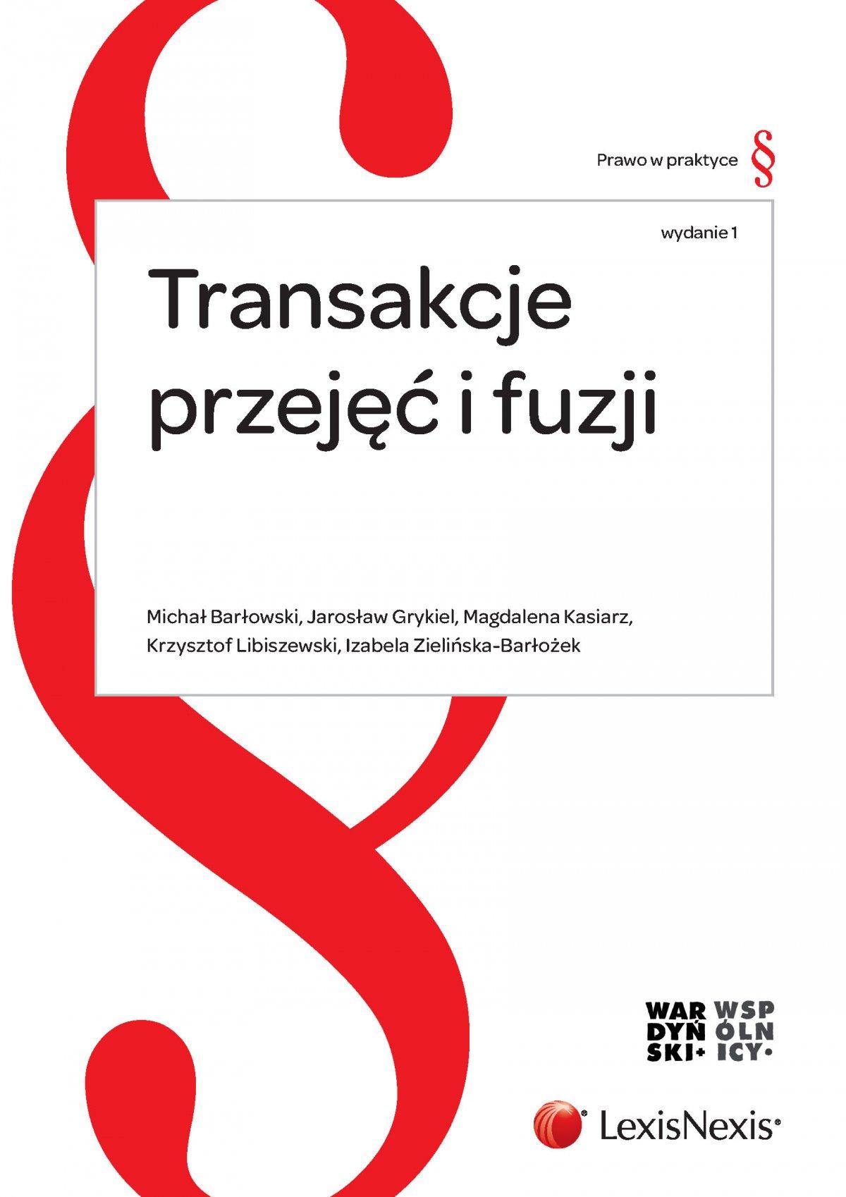 Transakcje przejęć i fuzji - Ebook (Książka PDF) do pobrania w formacie PDF