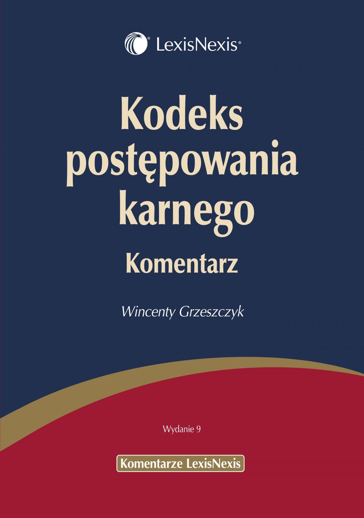 Kodeks postępowania karnego. Komentarz - Ebook (Książka PDF) do pobrania w formacie PDF