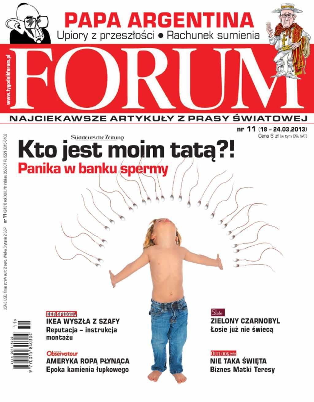 Forum nr 11/2013 - Ebook (Książka PDF) do pobrania w formacie PDF